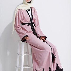 Dresses & Skirts - Pink Abaya